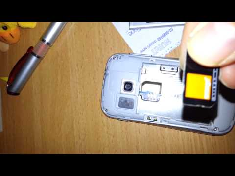 How to Unlock Samsung Galaxy Mini 2 S6500 by Unlock Code to work on other GSM Networks