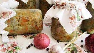 Грибная солянка. Заготовки на зиму