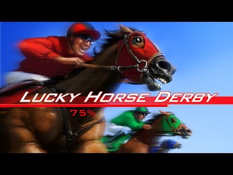 Lucky Horse Derby Single Player - Arcade Racing Game - CasinoWebScripts