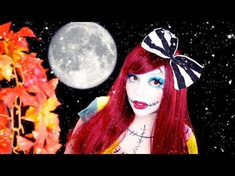 Sally (Nightmare Before Christmas) INSPIRED Makeup! | Charisma Star