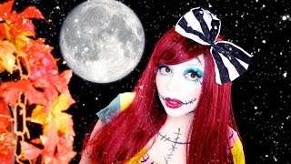 Sally (Nightmare Before Christmas) INSPIRED Makeup!​​​ | Charisma Star​​​