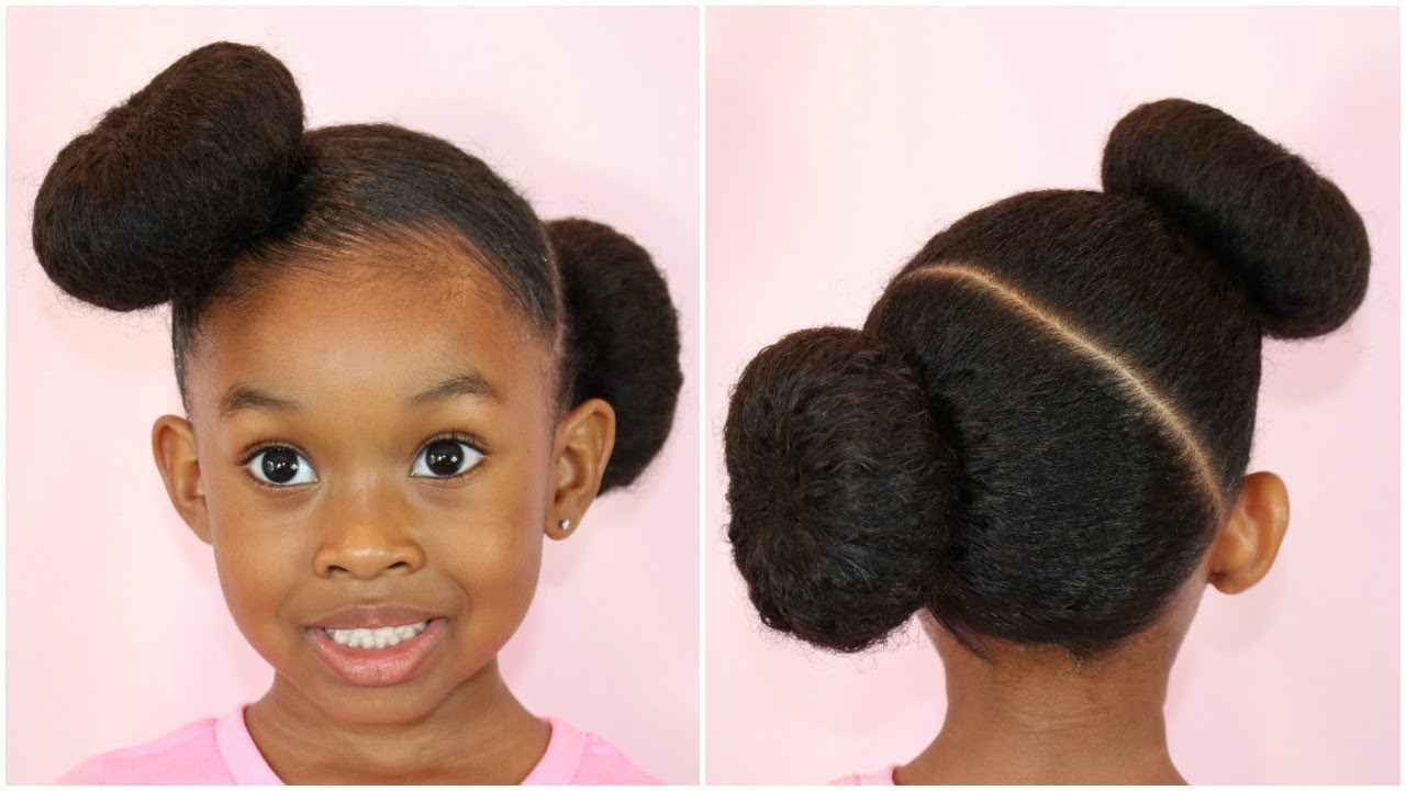 Quick Easy Donut Bun Hairstyle Easy Hairstyles