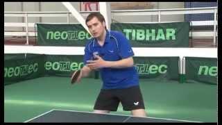 Уроки настольного тенниса А.Власова для начинающих. Часть 5