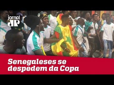 Senegaleses Se Despedem Da Copa