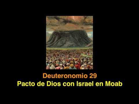 Deuteronomio 29: Pacto De Dios Con Israel En Moab