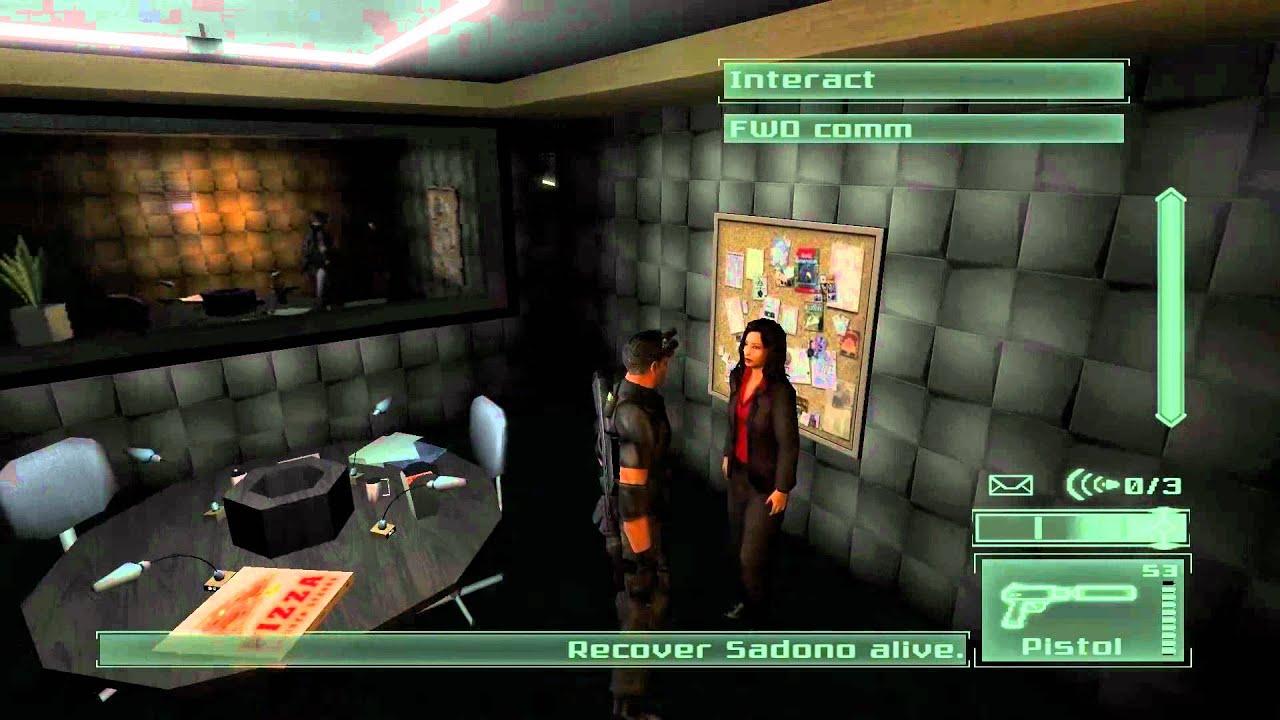 Splinter Cell Pandora Tomorrow Прохождение Миссия 1 Часть 1 - YouTube