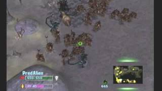 Aliens Versus Predator Extinction (PS2) - Level 3 Aliens (Edited)