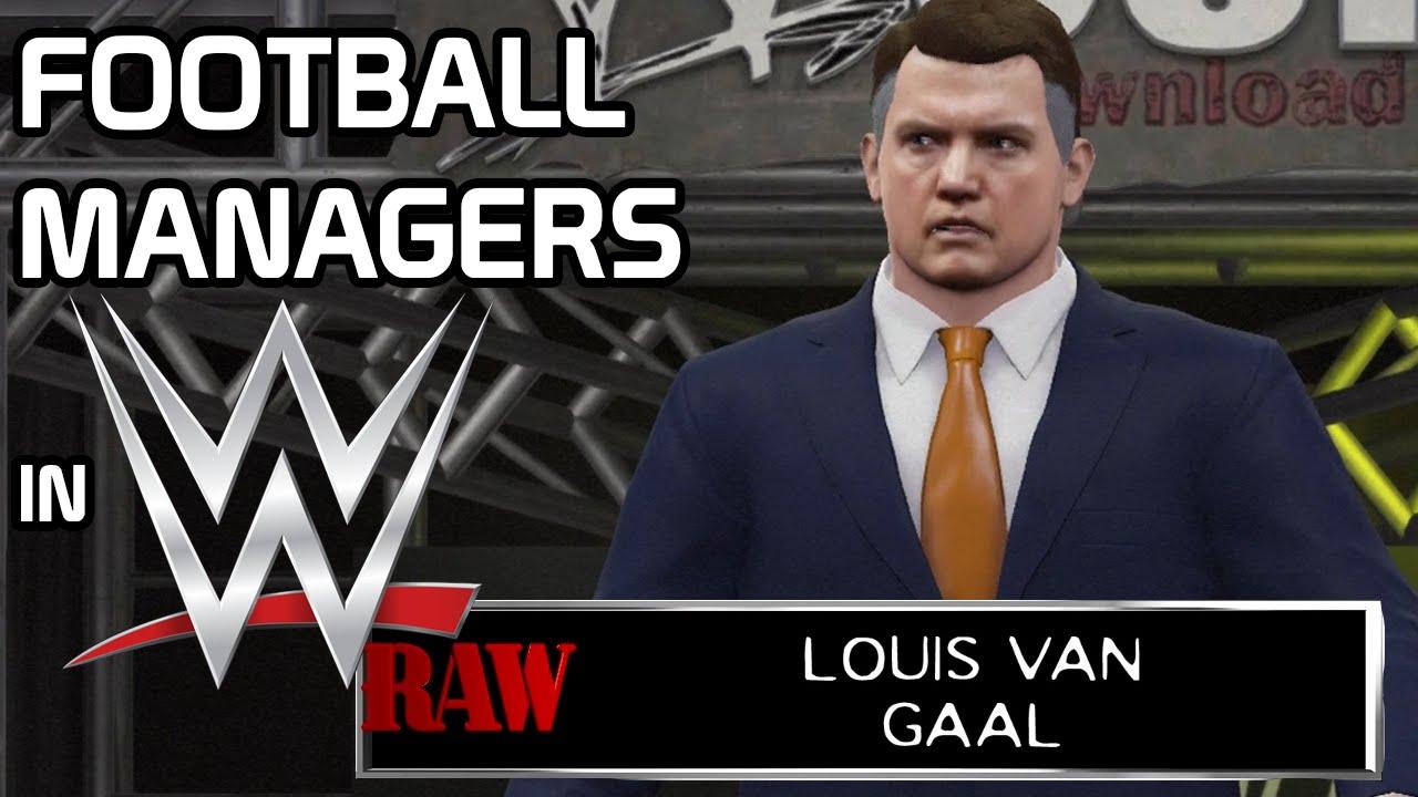 Football Managers In WWE (Van Gaal, Klopp, Allardyce