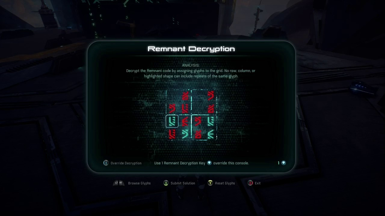 Mass effect andromeda remnant decryption