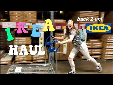 IKEA HAUL // EVERYTHING YOU NEED FOR UNIVERSITY