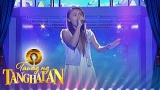 """Tawag ng Tanghalan: Famela Aglabtin - """"A Moment Like This"""""""