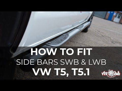 Fitting Instructions - T5 and T5 1 SWB & LWB Sidebars