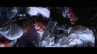 captain america vs the winter soldier hd end fight