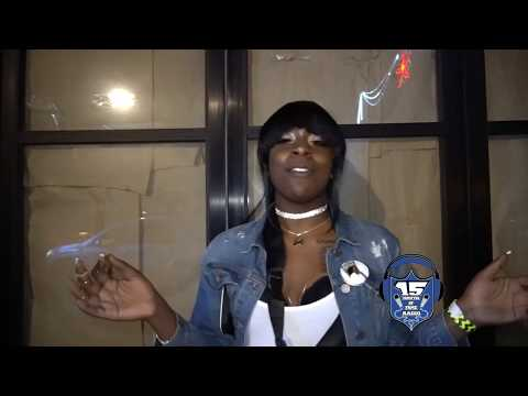 COFFEE BROWN ON HER BATTLE ON THE BEAT AT VERBAL WARZONE EVENT
