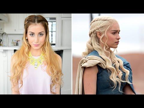daenarys-targaryen-inspired-hairstyle- -game-of-thrones-hair-tutorial