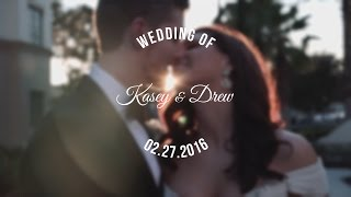 Kasey and Drew's Wedding | The Alfond Inn | Winter Park, FL