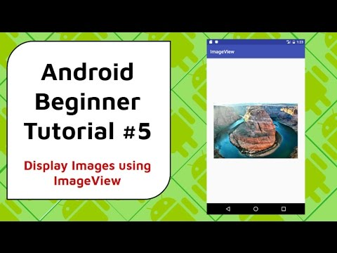 Android beginner tutorial #5 how to display images in your app.