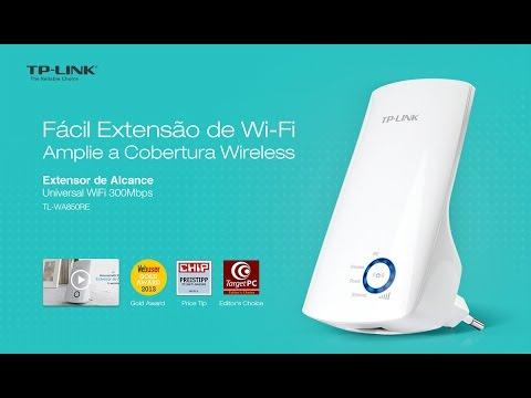 Tutorial Configuração Extender Wifi Tl Wa850re Tp Link Youtube