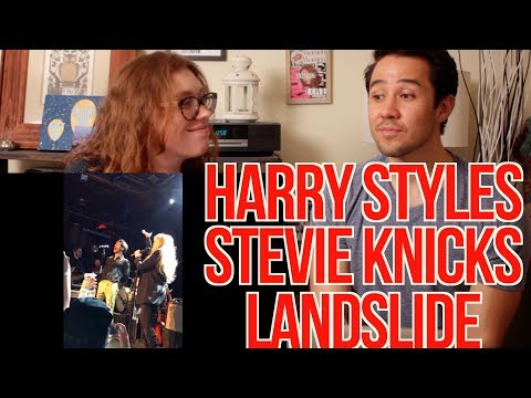 HARRY STYLES - STEVIE NICKS - LANDSLIDE  - REACTION!!