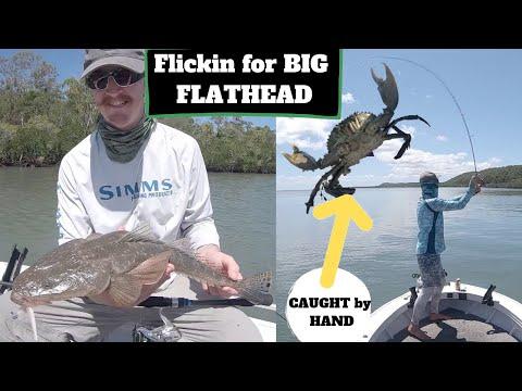 Flathead Fishing- Fraser Island + Great Sandy Straits + MUD CRABS