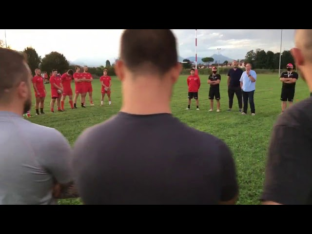 RUGBY - Rangers Vicenza primo allenamento -01