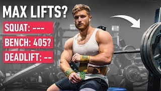 How Much Can I Bench, Squat and Deadlift Right Now? (Max Lifts Revealed)