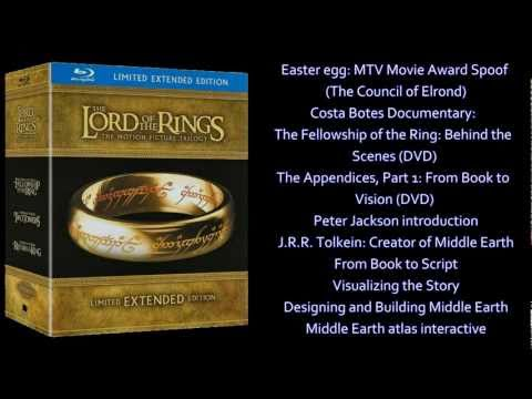 Boxed Set Reviews - (Season #3 - Ep. #15 - Lord of the Rings Extended Blu-ray Release)