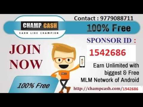 free online job chamcash  reference sponcer id 1542686