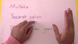 Verimli Ders Çalışma Tekniği Şenol Hoca Matematik