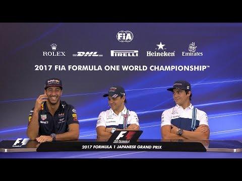 2017 Japanese Grand Prix | Pre-Race Press Conference