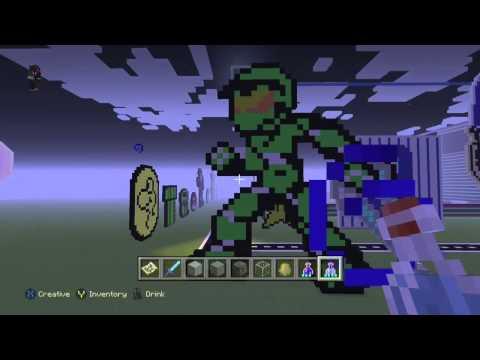 Minecraft Xbox One - Master Chief