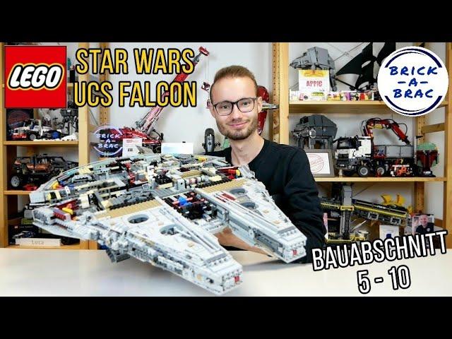 LEGO® Star Wars 75192 UCS Millennium Falcon - Überblick über die Bauabschnitte 5-10