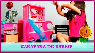 CARAVANA DE BARBIE  viajes y aventuras con sus amigas