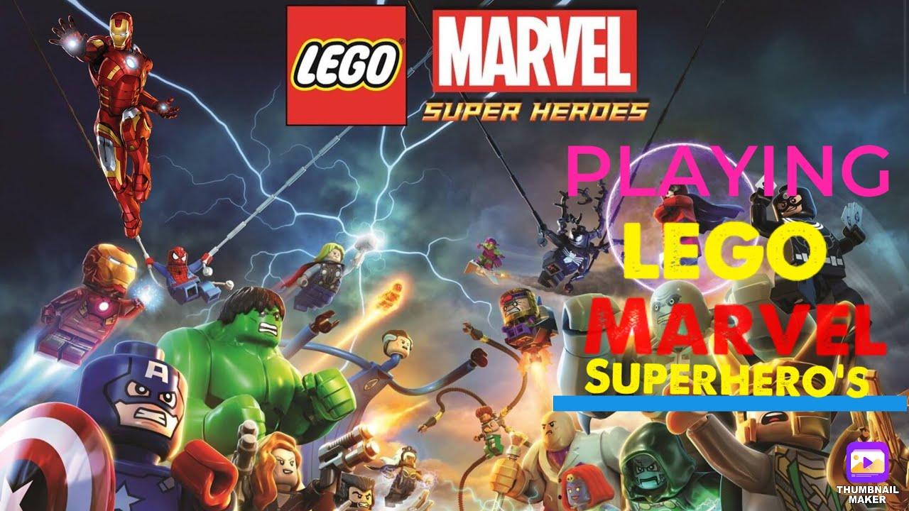 LEGO Marvel Superhero's Ep. 7 Storymode (Fighting ...