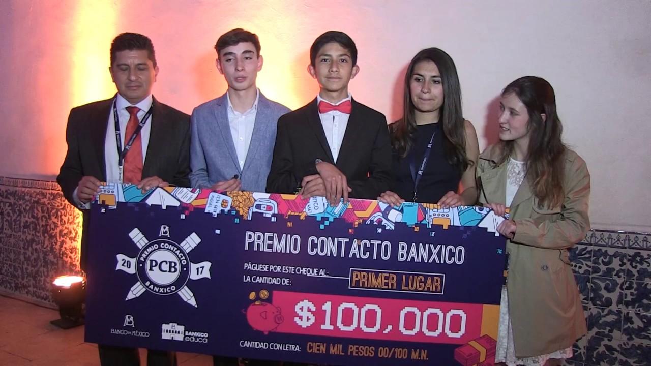 Premio Cont At Cto Banxico 2017 Tres Primeros Lugares Youtube