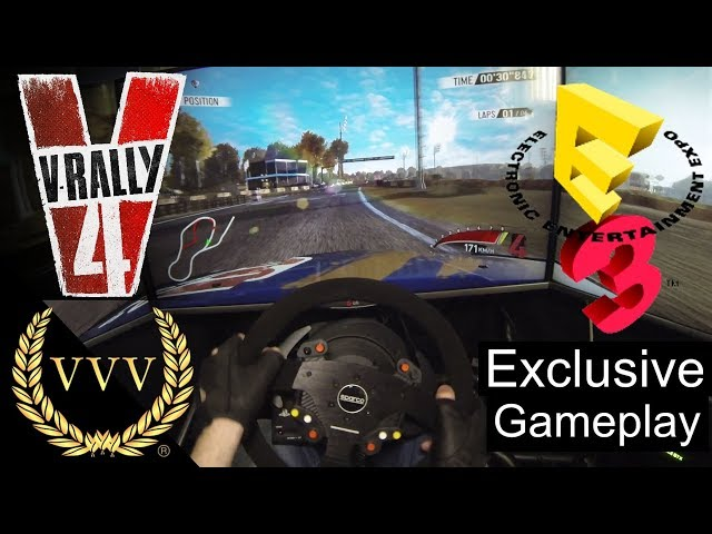 V-Rally 4 Gameplay - E3 2018