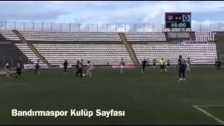bandırmaspor sarıyer verilmeyen penaltı pozisyonu