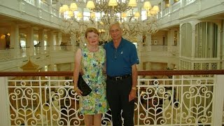 Mike and Kathy's WDW 2015, Day 8, Part 2 of 2, Afternoon Tea and Yachtsman Steakhouse