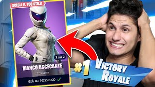 I'm back on FORTNITE after a week with the New Skin!!!