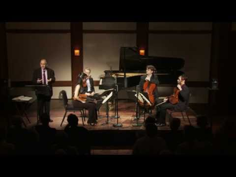 Inside Chamber Music with Bruce Adolphe - Haydn Quartet in D major for Strings, Op. 76, No. 5