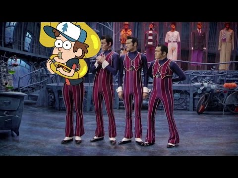 We are number one but song by Gravity Falls