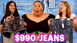 $12 Vs. $990 Jeans