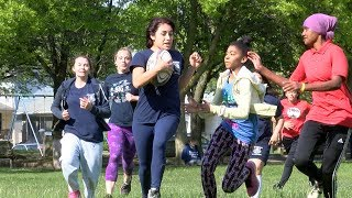 John Marshall students create first ever girls' rugby club in Cleveland schools
