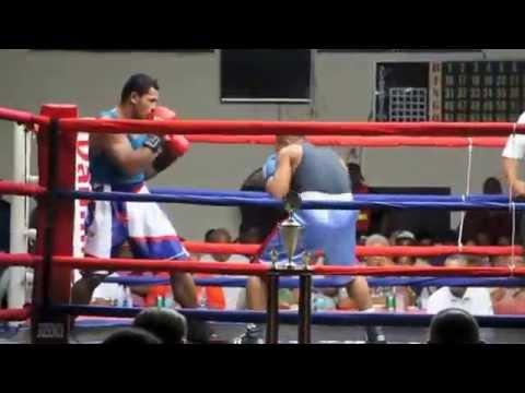 Am. Samoa (Ofisa) vs Samoa (Petelo Matagi)– Amateur Boxing