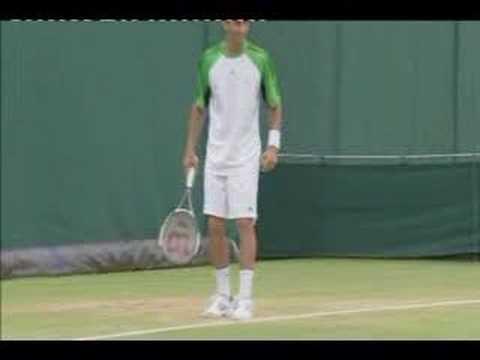 Djokovic as Roddick, Hewitt, Sampras, Nadal and Baghdatis