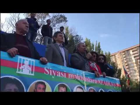 7 oktyabr Mitinqi Yeni Gorunutuler Milli Sura (Beyen Ve  Abune ol )