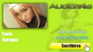 Toeto - Karaoke - Sin voz -