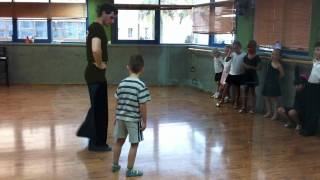 Первый урок бальных танцев. Олег Стасюк