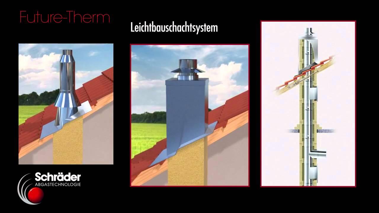 Hervorragend Leichtbauschornstein_FutureTherm_Schräder.wmv - YouTube YC98
