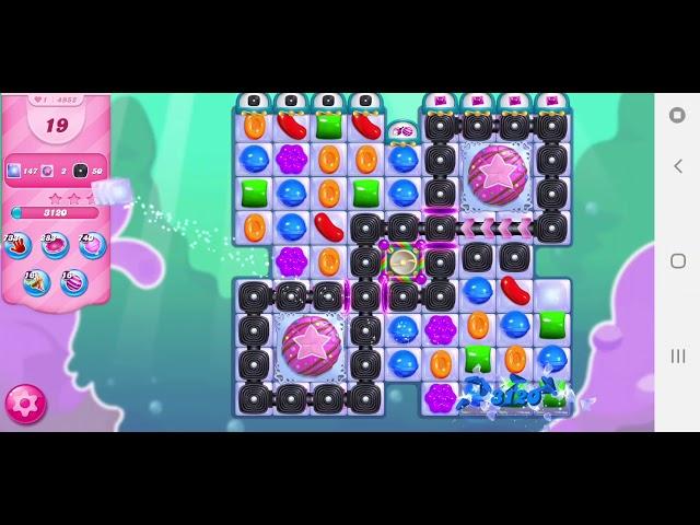Candy Crush Saga niveau 4952